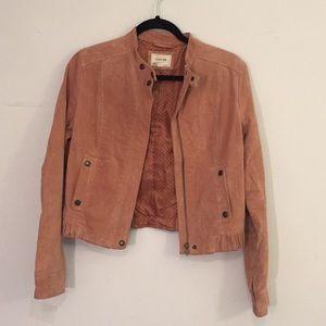 Forever21 burnt orange suede jacket